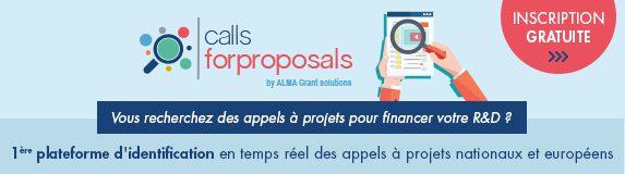 callsforproposals.com : 1ère plateforme de recherche d'appels à projets R&D nationaux et européens