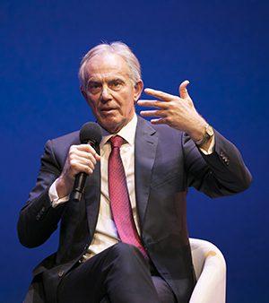 Tony Blair aux Business Performance Awards 2017