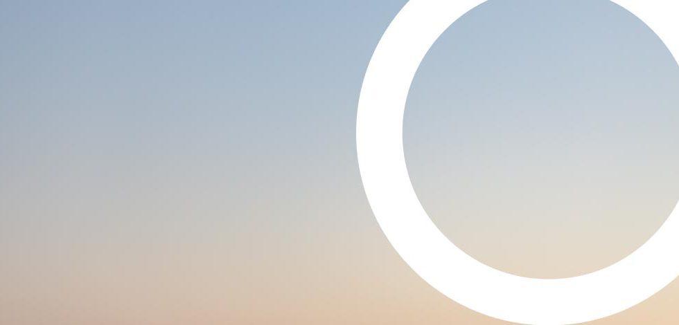 ciel avec un cercle