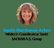 Agnès Martineau-Arbes, Médecin Coordinateur Santé, SAFRAN A.S. Group