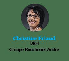 Christine Friaud, DRH, Groupe Boucheries André