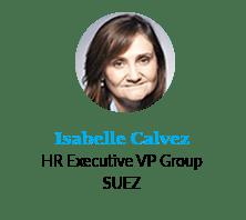 Isabelle Calvez, HR Executive VP Group, SUEZ