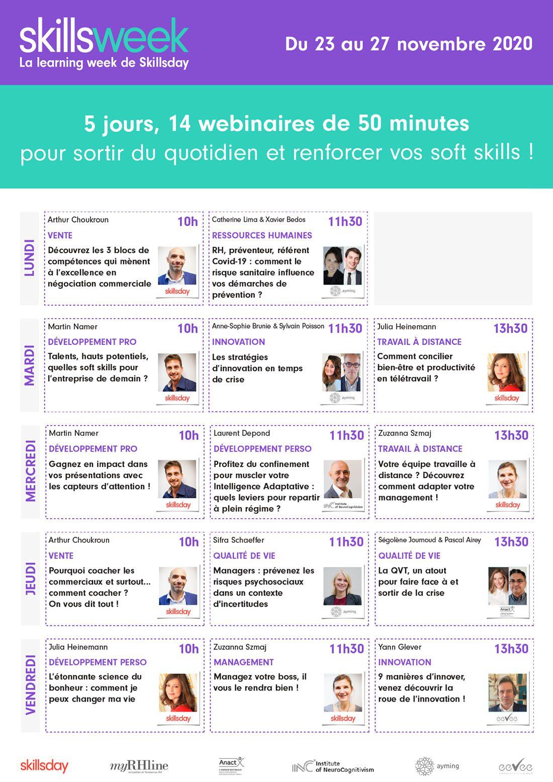 Programme-Skillsweek Ayming Skillsday