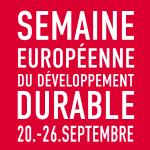 Semaine européenne du developpement durable
